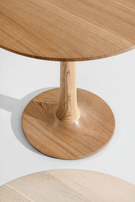 Side Table Turntable Couch Zeitraum Sustainable Furniture