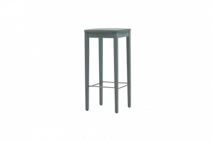 BLUE STOOL BAR – Hocker